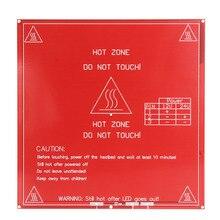 214 х 214 мм 3D ПЕЧАТНОЙ ПЛАТЫ Принтера Heatbed MK2B 12/24 Dual Power Hot Plate Модуль
