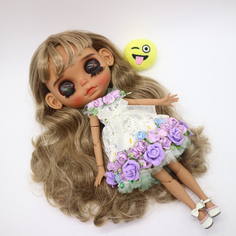 Customization Doll Diy Joint Body Blyth Doll For Girls Nude Doll Not Include Clothes -5854