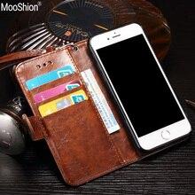 Роскошный кожаный флип телефон мешки для iphone 7 бизнес бумажник с подставкой case cover для iphone 7 plus держателя карты кобура