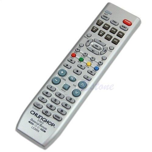 8in1 Blanc Nouveau Smart Universal Controller Télécommande Pour TV VDO DVD CD SAT AUD