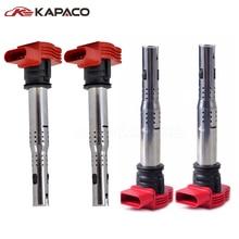 4pcs Auto replacement parts Ignition system Ignition Coil 06E905115E 06E 905 115 E  For Audi A4 A5 Quattro VW Touareg 06E905115C