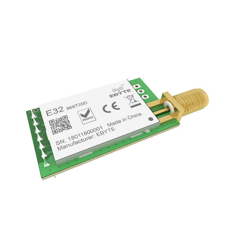 Image 3 - SX1276 TCXO 868MHz 20dBm LoRa UART ebyte E32 868T20D rf Long Distance SMA K Connector Transmitter Receiver Wireless rf Module-in Fixed Wireless Terminals from Cellphones & Telecommunications