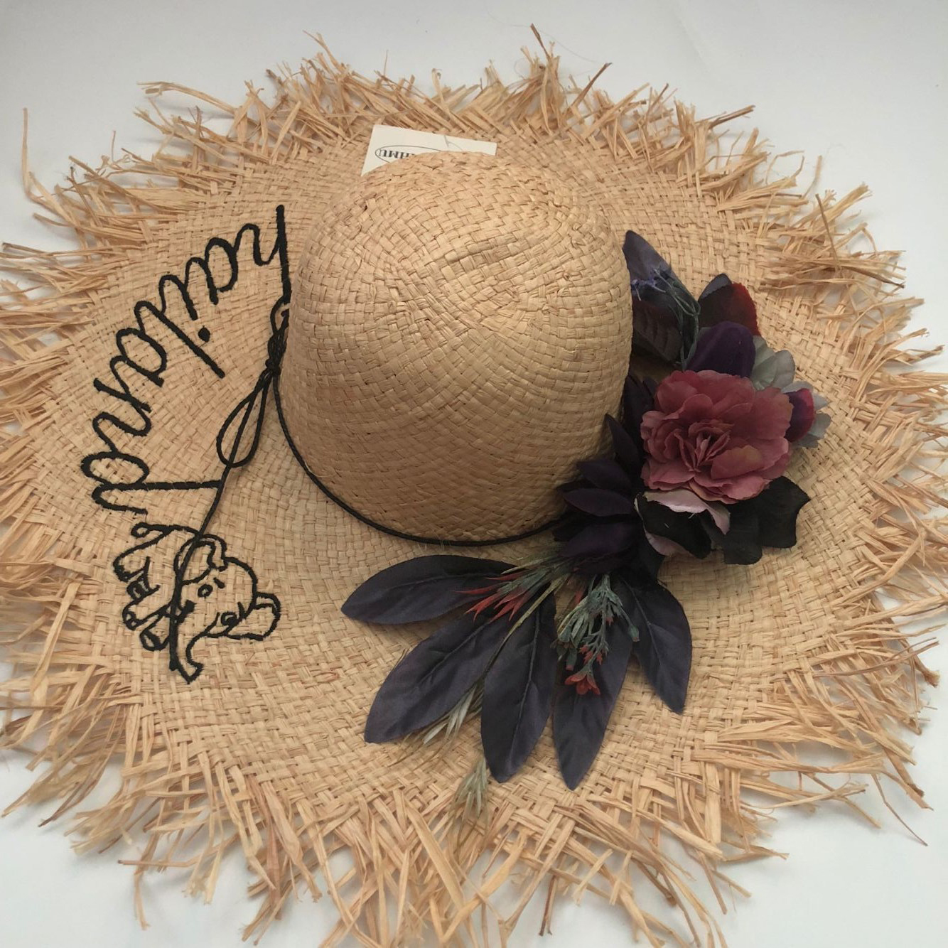 Casual Solid Floral Letter Selling Sun hats For Women Gilr Summer Vintage Straw Beach Outdoor Caps 2019 New Apparel Accessories in Women 39 s Sun Hats from Apparel Accessories