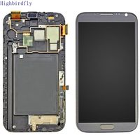 Highbirdfly For Samsung Galaxy Note 2 N7100 N7105 Lcd Screen Display Touch Glass Digitizer With Frame