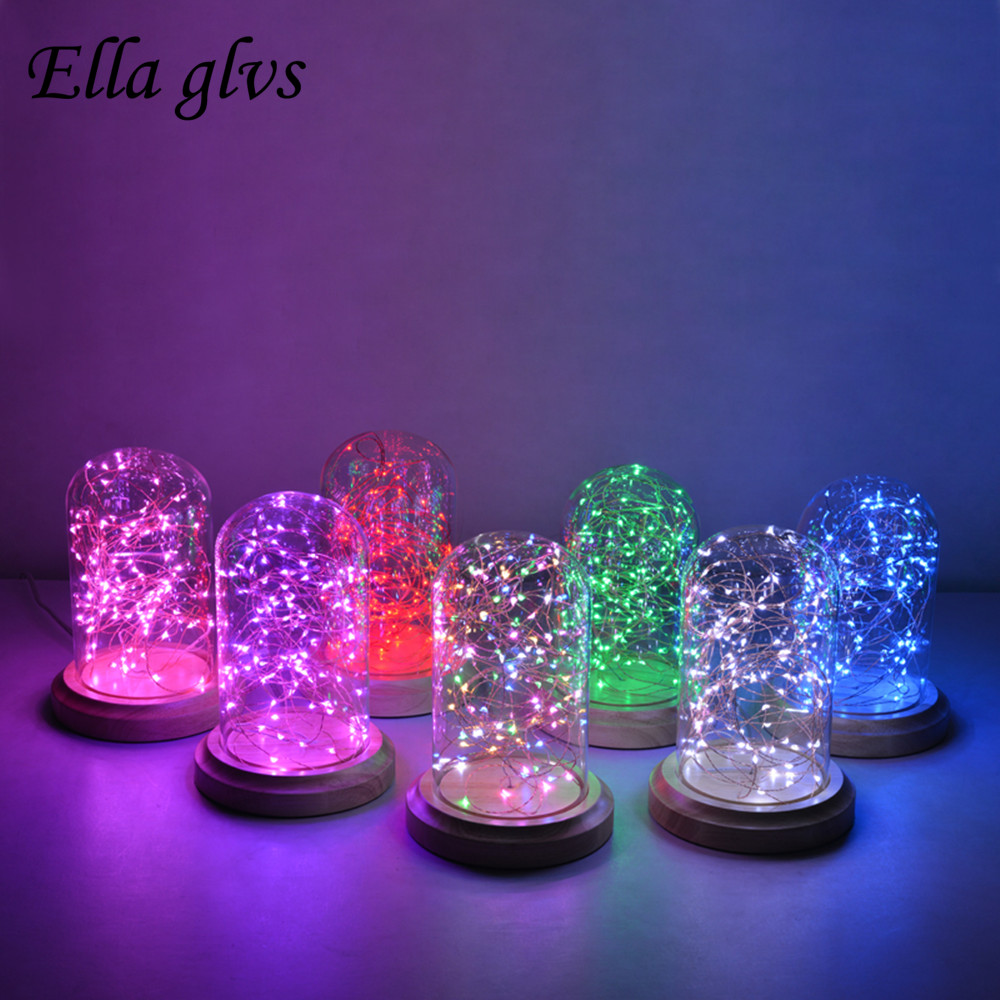 Led Strings Copper Wire/ Sliver Wire/3XAA Battery Operated Christmas Wedding Party Decoration