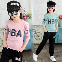 Children S Garment Spring And Dress New Pattern Girl Suit Children Full Cotton Long Sleeve Trousers