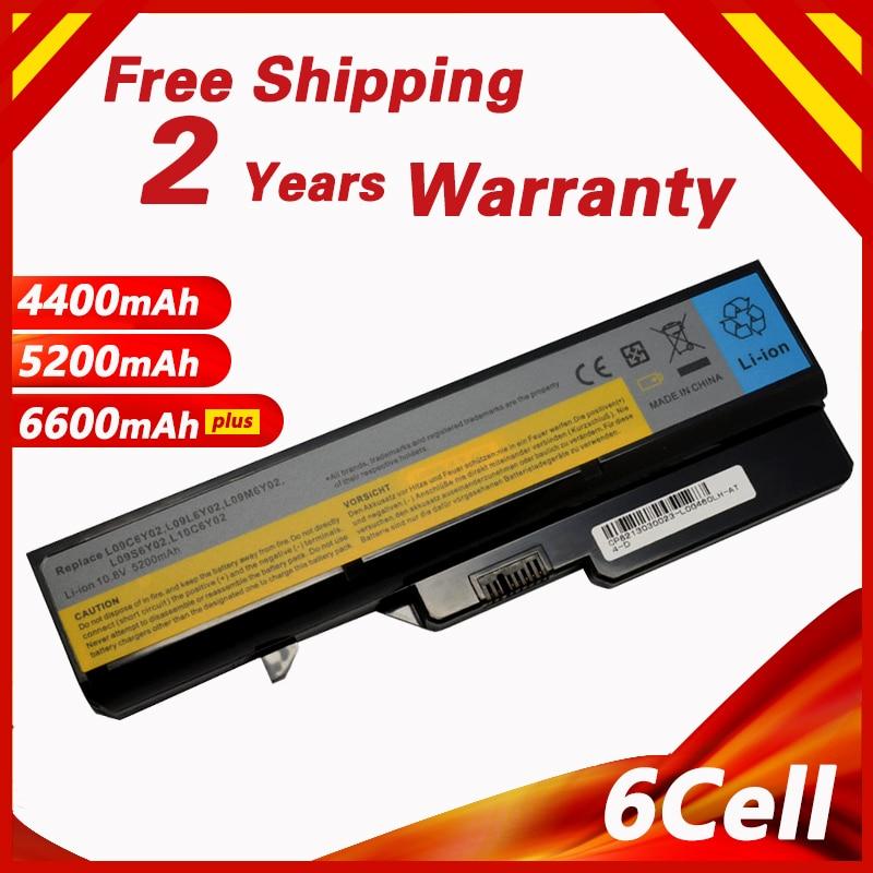 Golooloo  Battery For LENOVO G460 G465 G475A G475GL G575 G570 B470 G470 G560 G565 G570 G770 V360 V370A V470A V470P V570A