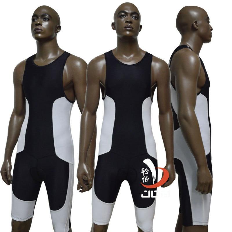 JOB ironman triathlon swimsuit one piece suits running suit tri suit men cycling bike clothes