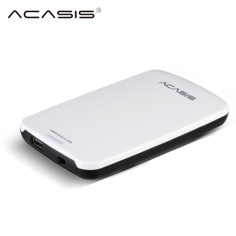 New Original ACASIS FA-05U 2.5 Inch USB 2.0 External Hard Drive Disk HDD Enclosure Case With Cable For 9.5mm SATA HDD new sata hdd for designjet z5200 ps hard drive disk cq113 67017 cq113 67013 with fw plotter ink printhead parts free shipping