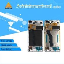 Для 5.7 «Сяо Mi Note или Mi Note Pro axisinternational экран + Сенсорная панель планшета с рамкой Бесплатная доставка