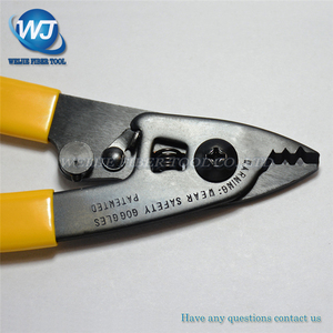 Image 3 - Free shpping CFS 3 Three port Fiber Optical Stripper/ Pliers/ Wire strippers FTTH Tools Miller Optical Fiber Stripping Pliers
