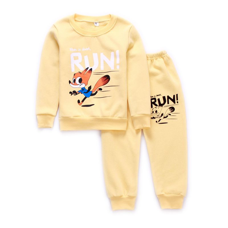 цены Spring autumn new fashion baby boys girls hoodies sport suit Children clothing set toddler casual kids tracksuit set