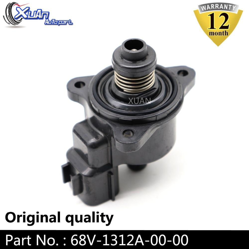 XUAN IAC moteur pas à pas 68V-1312A-00-00 68V-1312A-00 pour hors-bord Yamaha soupape de contrôle de vitesse de ralenti ISC pour HP 115HP F115 LF115