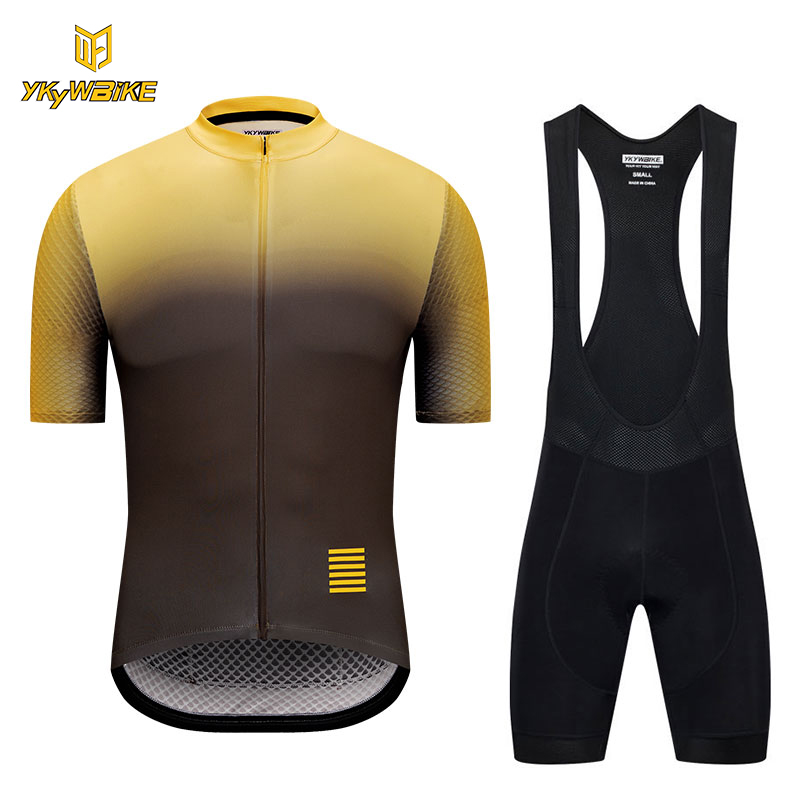 867332f97 aliexpress.com - YKYWBIKE 2018 Pro team Cycling jersey set men maillot  ciclismo hombre Summer high quality bicycle clothing gradient color -  imall.com