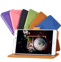 Magnetic Prints Folio Stand Cover Protective Print Flower Leather Case For Huawei Mediapad Youth M2 7