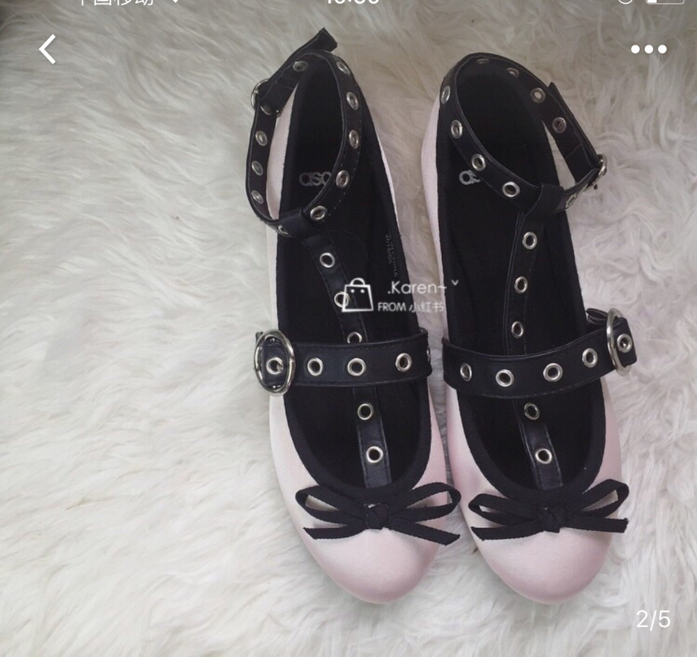 Ladies Flat Shoes Slip On Round Toe Buckled Punk Style Ballerina Ankle Wrap Ballet Rivets Shoes Women 2016 Autumn NewLadies Flat Shoes Slip On Round Toe Buckled Punk Style Ballerina Ankle Wrap Ballet Rivets Shoes Women 2016 Autumn New