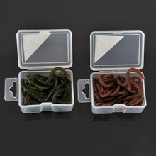 JOSHNESE 15pcs/field 9cm Synthetic Sea Worm Worms Vivid Simulation Fishing Lure Deal with Mushy Bait Odor Lures + Free transport!