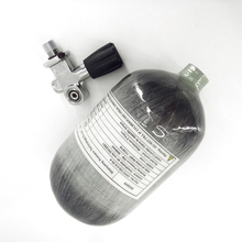 AC52051 2L CE 4500Psi Mini Scuba Paintball/PCP Air Tank for Airsoft Pcp Gun/Air Rifle with YOKE Valve Airforce Condor