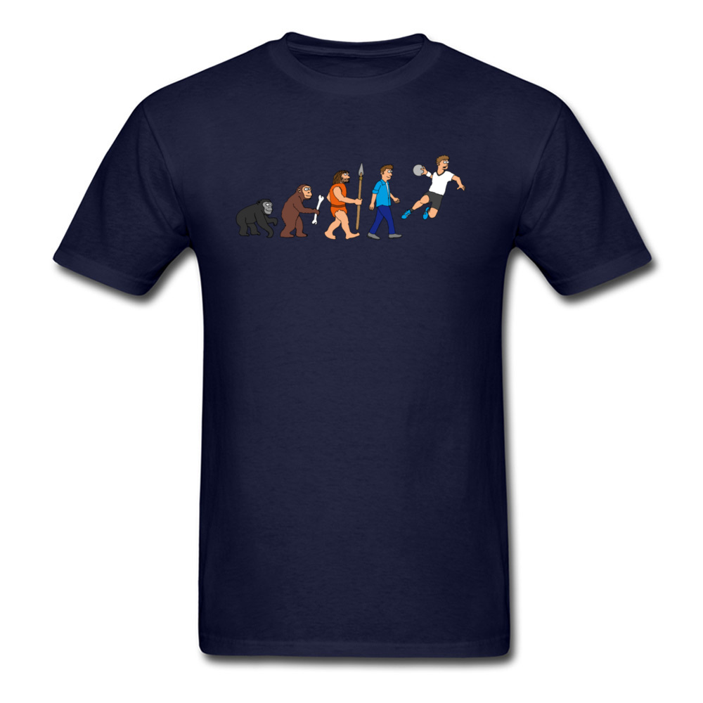 Evolution handball comic_navy