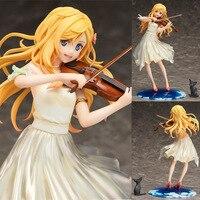 Your Lie in April Arima Kousei Miyazono Kaori CostumesFigure Shigatsu wa Kimi no Uso Violin Uniforms PVC Action Figure Model