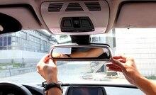 2017 For Land Rover Discovery Sport 2015 2016 ABS Matt Interior Car Rearview Mirror Frame Cover Trim 2pcs/set