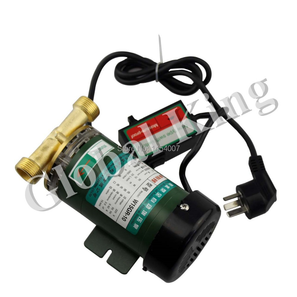 220 V, 260 W automatique douche Machine à laver chauffe-eau solaire Booster pompe à eau - 2