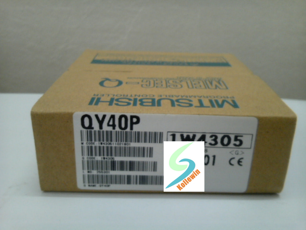 Q Series MELSEC QY40P Output Module, PLC Module QY40P NEW in Box Free Shipping цена и фото