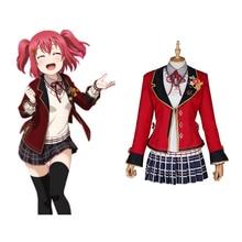 Love Live Sunshine Cosplay Ruby Kurosawa Costumes Uniform Outfit Anime Costume Halloween Carnival