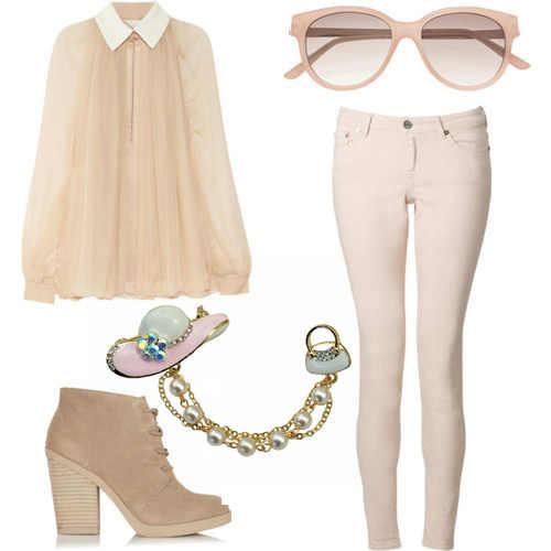 Dulce sol chica Rosa esmalte Sunhat con cadena de cuentas bolso con detalles esmaltados broche clip de cuello Pin