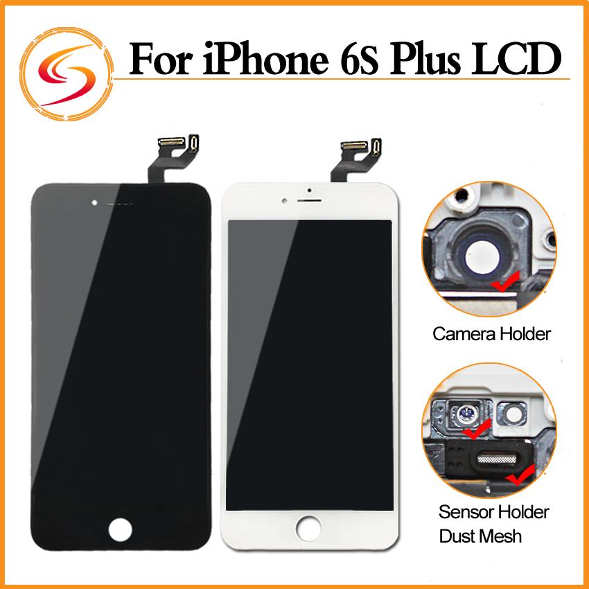 Prix pour Grade AAA + + + 3 PCS/LOT Pour Iphone 6s Plus LCD Avec 3D Force Écran Tactile Digitizer Assemblée 5.5 Pouce Affichage Mort Non Pixel