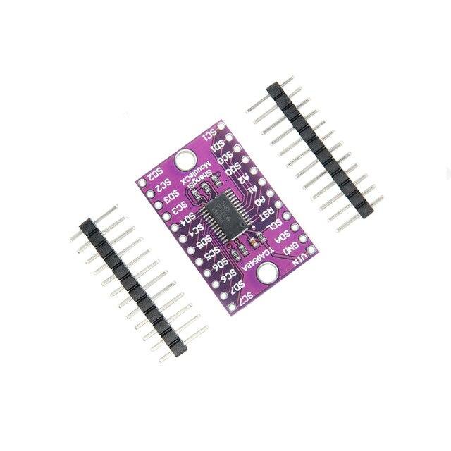 1 sztuk TCA9548A I2C multiplekser tabliczka zaciskowa do łączenia modułów nowy