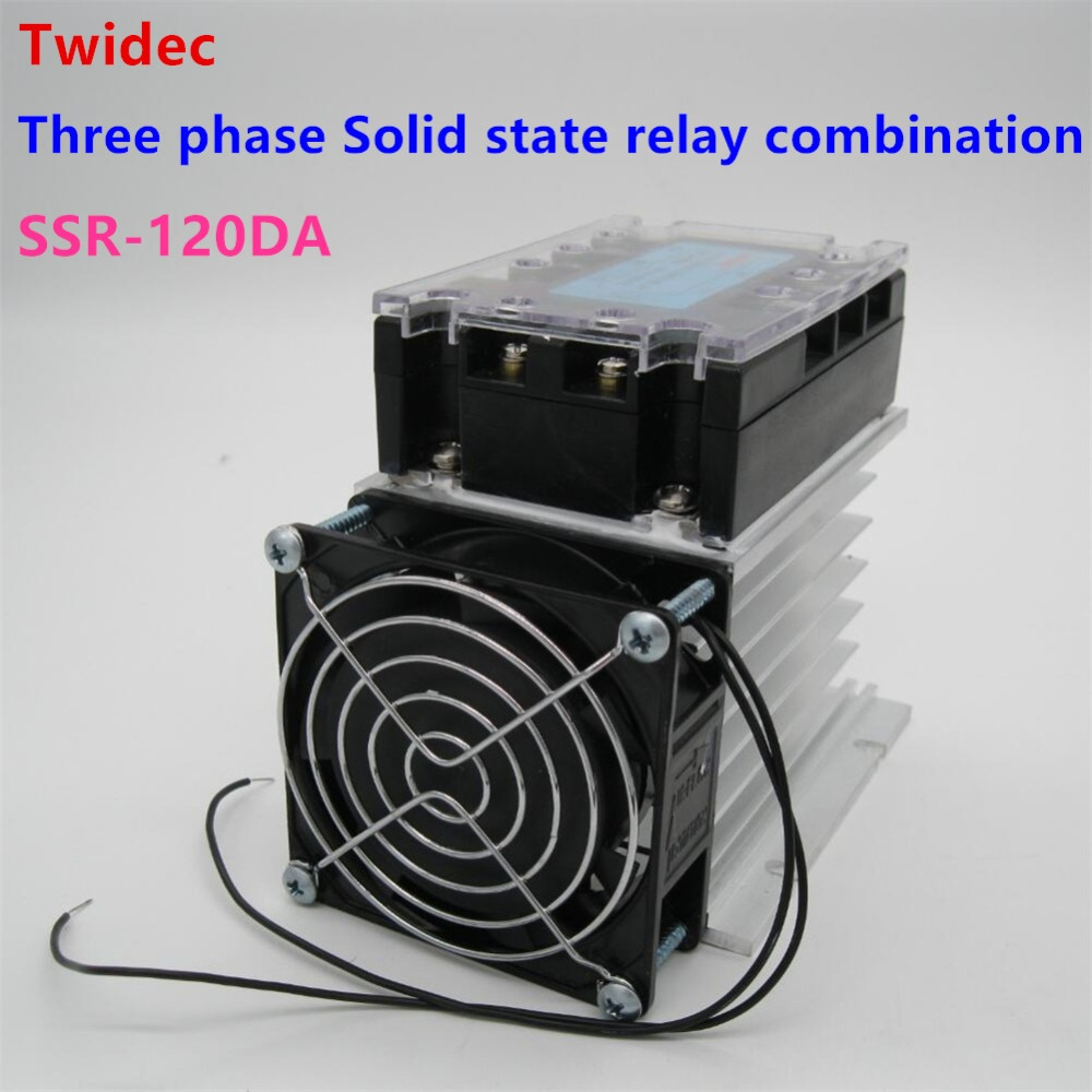 High Quality Three Phase Solid State Relay 120da Ssr Relay 332vdc To 30