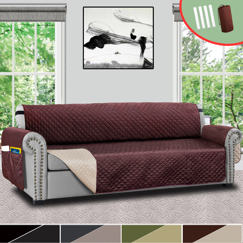 Sofa Couch Cover Pet Dog Kids Mat Protector Stretch