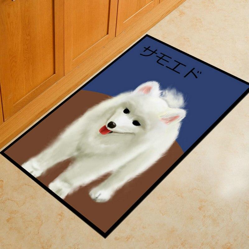 Dog Carpets Kitchen Bathroom Mat