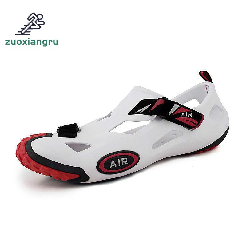 Zuoxiangru Mesh River Quick-Dry Shoes Breathable Summer Beach Men Comfortable Aqua Shoes F