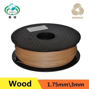 Filamento De Madera De La Impresora 3d | Filamento De Impresora 3d De Madera De Color Ligero Profesional 1,75mm 1