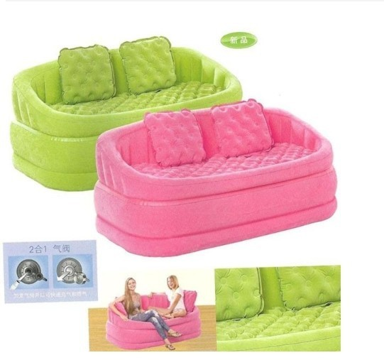 Inflatable sofa double, leisure sofa in the living room, living room ...
