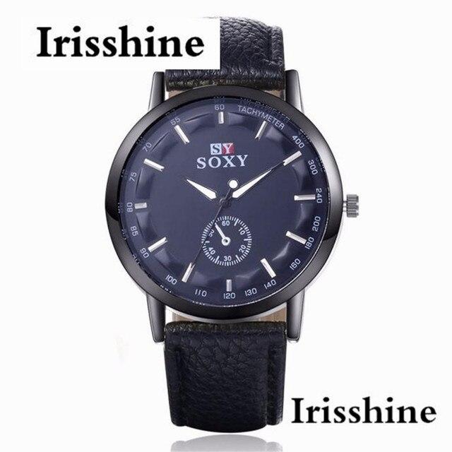 b032aaa7714 Irisshine Z72 presente Quartz Esporte Militar relógios homens Relógio marca  de luxo de Aço Inoxidável Dial