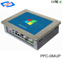 High Quality XP Win7 Linux Win8 Industrial Panel PC Fanless Wide Pressure Industrial Tablet PC
