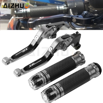 Motorcycle Brake Clutch Lever Extendable+Handle Grips For YAMAHA XJ6 N / XJ6 DIVERSION XJ6 2009-2015 2014 2013 2012 2011 2010