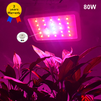80W LED Grow Light Full Spectrum Plant Lights Lighting Fitolampy Lamp Lamps For Plants Flowers Seeding