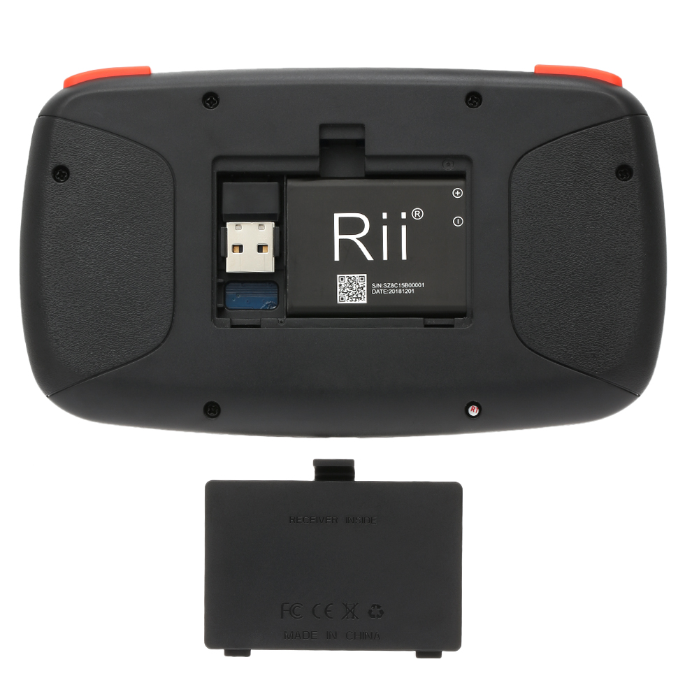 Image 4 - Rii i4 Mini Bluetooth Keyboard 2.4GHz Dual Modes Handheld Fingerboard Backlit Mouse Touchpad Remote Control for Windows AndroidKeyboards   - AliExpress