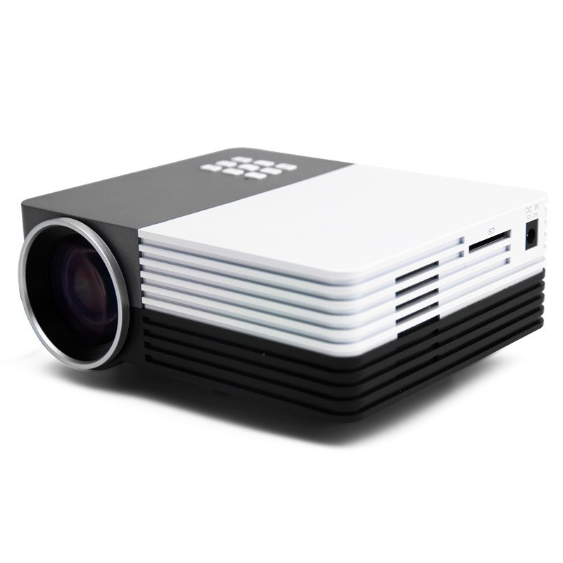 HDMI Projector Portable Home Mini Projector AV VGA USB SD HDMI Interfaces LED Projector Black / White Home Theater Beamer