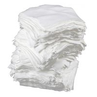 Беспылезащитная Салфетка для уборки 4 дюйма x 4 дюйма 400 шт белая