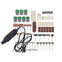 Electric Grinder Engraving Kit 110 230V Dremel Tools Regulating Speed Drill Grinder Tool For Milling Polishing