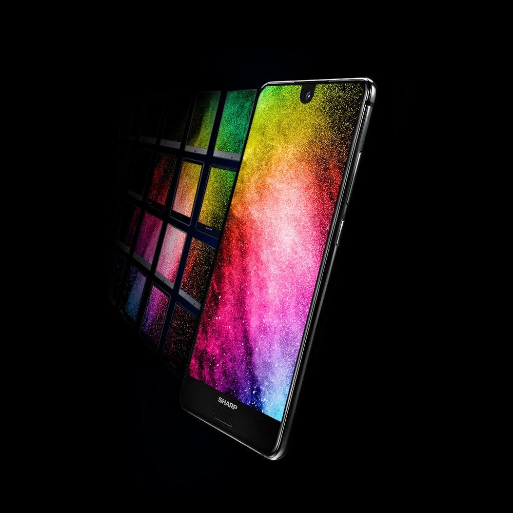 HTB1wmKfR3HqK1RjSZJnq6zNLpXar Global Version Sharp AQUOS S2 C10 4GB+64GB 5.5inch FHD+ Android8.0 Octa Core 12MP+8MP NFC Fingerprint 4G Smartphone
