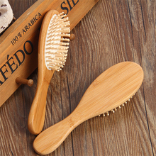 1PC Chinese Style Wood Comb Professional Healthy Paddle Cushion Hair Loss Massage Brush Hairbrush Comb Scalp Hair Care Healthy