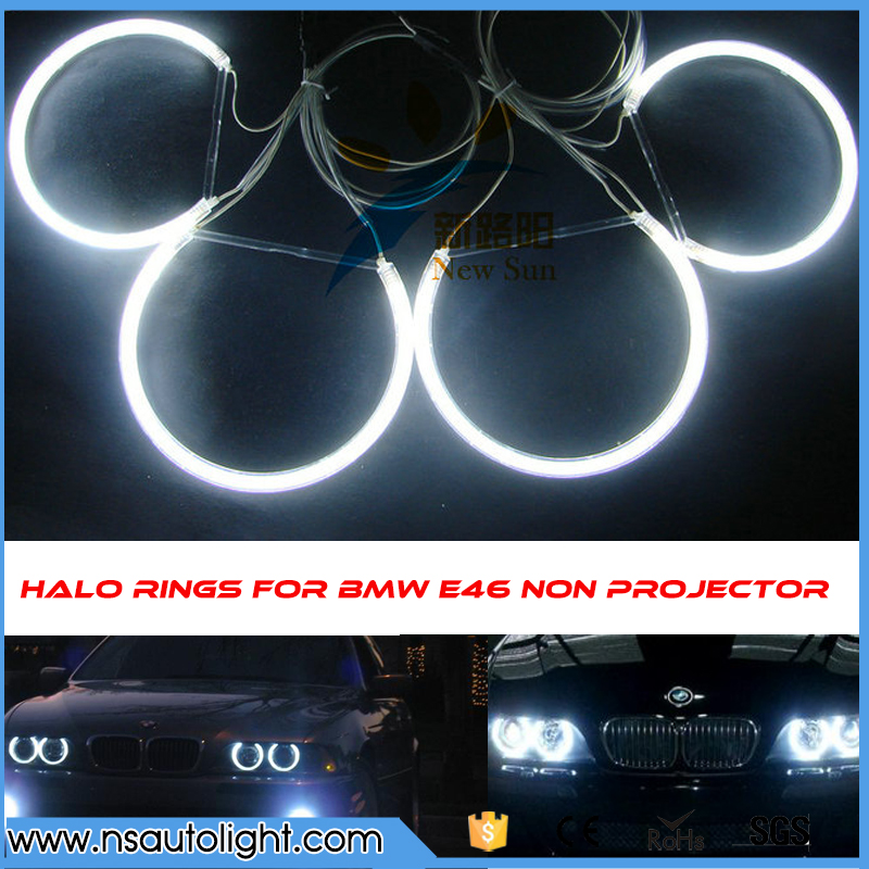 Factory price e46 non projector ccfl angel eyes ring headlights car ccfl halo ring bulb angel eyes kit for bmw e46 jacob thomas biological nitrogen fixation by azospirillum brasilense