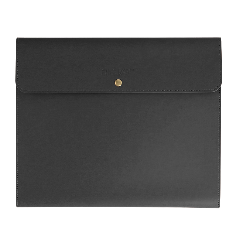 Office Supply File Bags PU Leather File Holder Document Bags Organizer Business Accessories File Folder Accept Cutomized