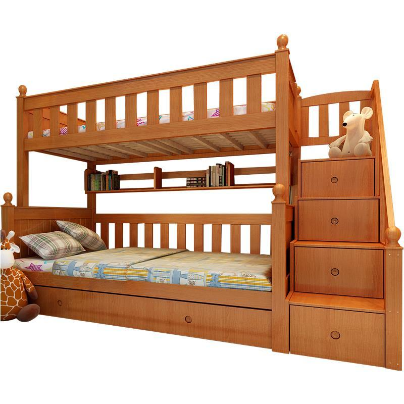 Deck Modern Literas Madera Room Furniture Frame Mobili Per La Casa Meble Box Moderna De Dormitorio Mueble Cama Double Bunk Bed